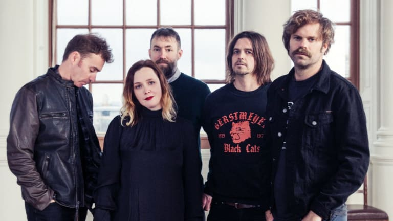 """I never thought shoegaze would endure at all,"" says Rachel Goswell, who is co-lead singer with Slowdive."