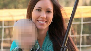 Jamie Gilt was driving her car when her four-year-old son shot her in the back.
