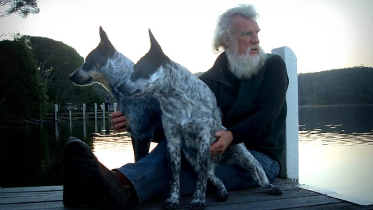 Author Bruce Pascoe, winner of the book of the year and co-winner of the Indigenous Writer's Prize in the 2016 NSW Premier's Literary Awards