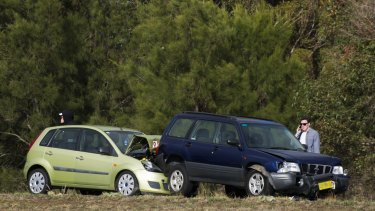 A crash on the Monaro Highway. The ACT government's first citizen jury will look at proposed changes to compulsory third-party insurance.