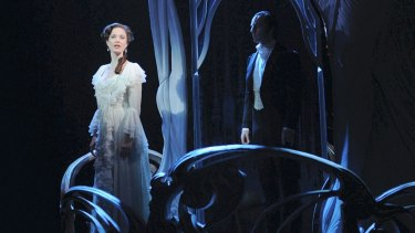 Sierra Boggess and Ramin Karimloo in Love Never Dies.