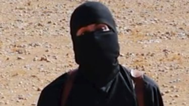 Video released by Islamic State militants in 2014, purported to show the British militant known as Jihadi John beheading prisoners. He was reported killed in 2015.