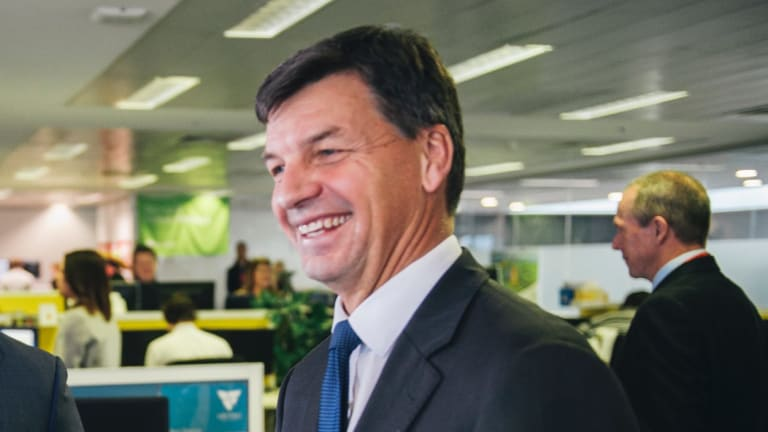 Assistant Minister for Cities and Digital Transformation, Angus Taylor.