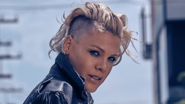 Pink opens wide the window on her personal life.