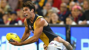 Suspended: Alex Rance will miss Richmond's next two games.