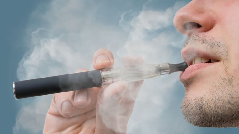 E-cigarettes with nicotine are currently banned in Australia, and most doctors want to keep it that way.