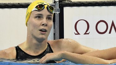 Bronte Campbell, left, was confused for her sister Cate.