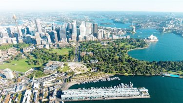 An outdoor public art garden will better link Woolloomooloo and the CBD.