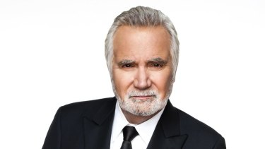 John McCook as Eric Forrester on the The Bold and the Beautiful.