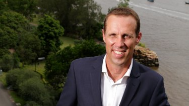 Labor's lord mayoral candidate Rod Harding.