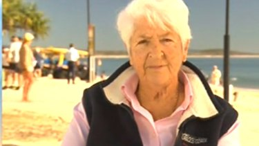 Dawn Fraser has made a controversial appearance on The Today Show.