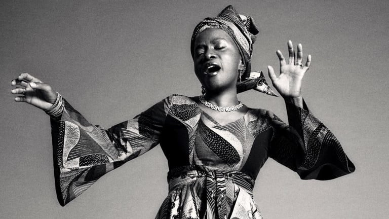 If she hadn't become a singer, Angelique Kidjo would have been a human rights lawyer.