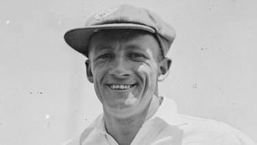 The great Don Bradman boasted a batting technique that seems eerily similar these days to Steve Smith.