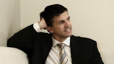Colliers CFO Sean Unwin: also does a mean Richard Gere impression.