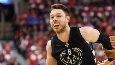 Milwaukee Bucks guard Matthew Dellavedova.