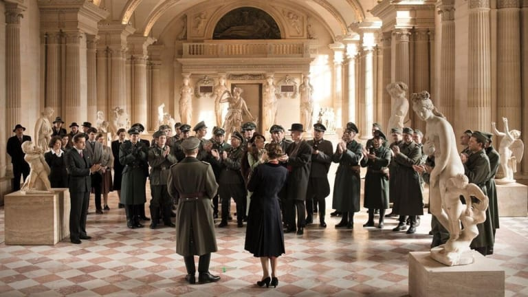 <i>Francofonia</i> tells the story of the two men who helped to save the Louvre during World War II.