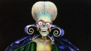 The aliens from <i>Mars Attacks!</i>.