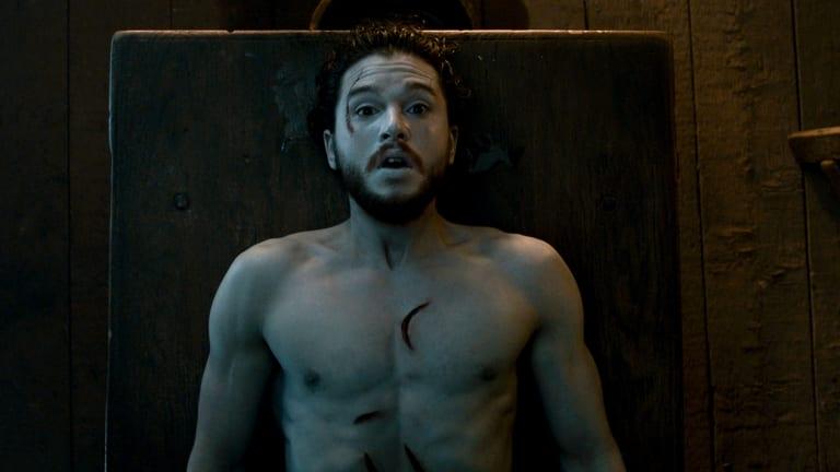 Jon Snow resurrected.