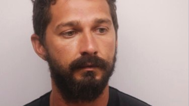 Actor Shia LaBeouf was arrested for public drunkenness.