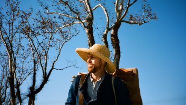 Willem Dafoe stars as the tormented artist Vincent van Gogh in <i>At Eternity's Gate</i>.