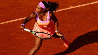 Back from the brink: Serena Williams.