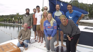 Teachers and scientists set sail on an expedition on Queensland's Moreton Bay.