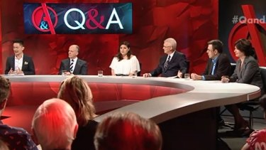 The Q&A panel discussed a renewed push to reform section 18c of the Racial Discrimination Act.