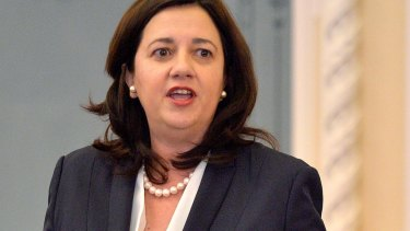 Queensland Premier Annastacia Palaszczuk's government will bring in legislation to standardise the age of consent.