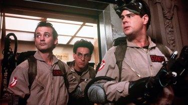 Bill Murray in the original <i>Ghostbusters</i>.