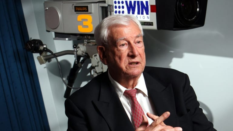 Bruce Gordon's WIN is negotiating with Network Ten.
