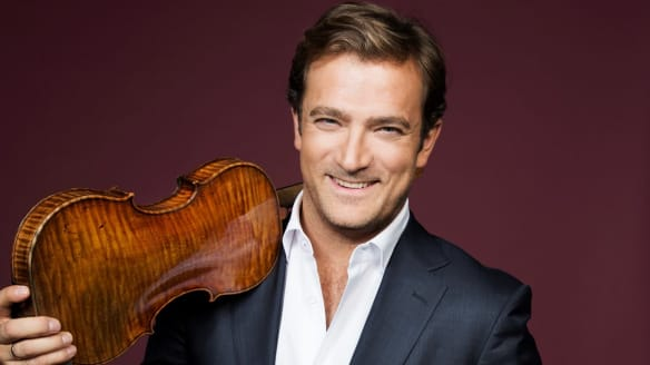 French violinist Renaud Capucon delivered an outstanding performance.