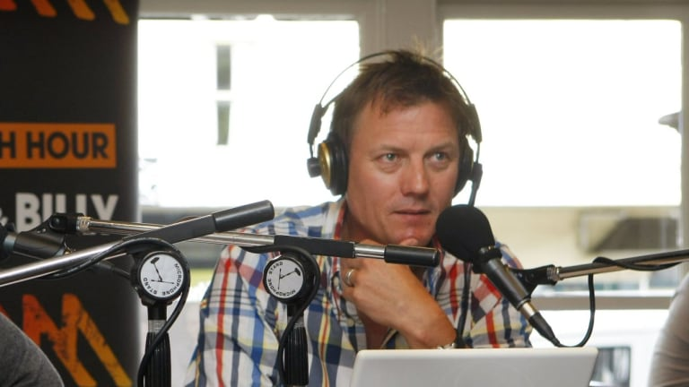 North Melbourne president and Triple M caller James Brayshaw was also involved in last Monday's  live broadcast.