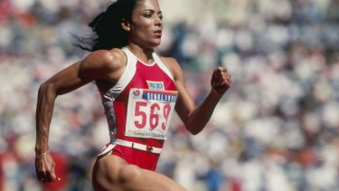 In question: Florence Griffith-Joyner's world records from the Seoul Olympics still stand.