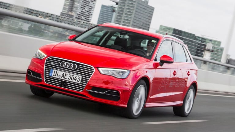 The A3 e-tron Sportback is Audi's first plug-in hybrid model in Australia.