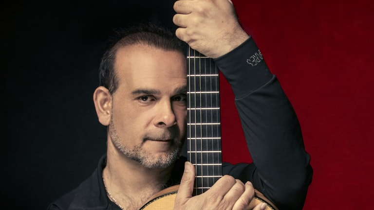 Juan Carmona conjured up the unmistakable music persona of Spain.