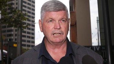 Alex Claassens, state secretary of the Rail, Tram and Bus Union.