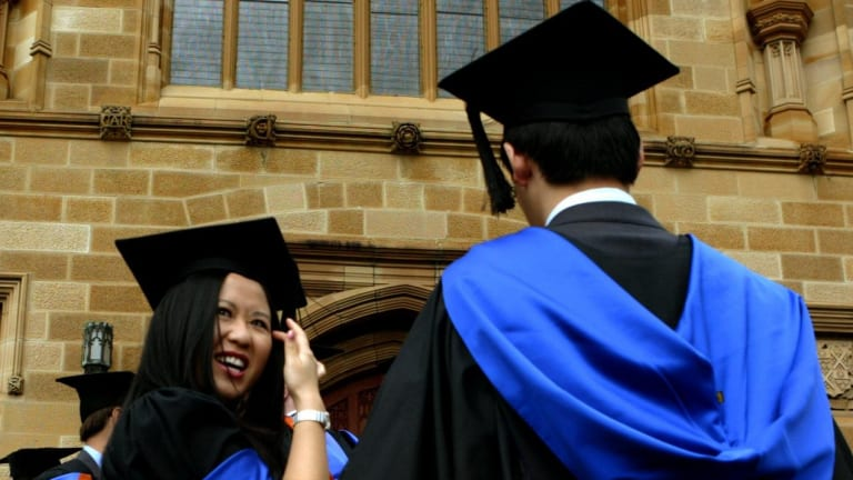 "Employers are far more happy with graduates from smaller universities than those from the bigger ""group of eight"" institutions."