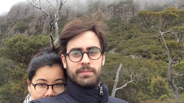 Jesse Cox and his wife Que Minh Luu in Tasmania