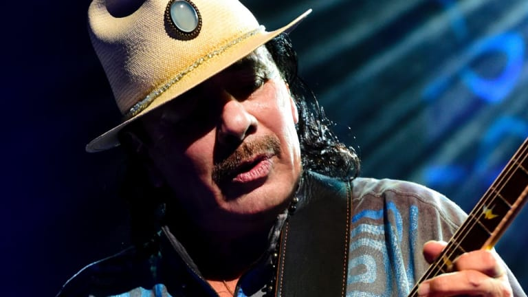 Carlos Santana has combined with soul legends the Isley Brothers for an album of covers.