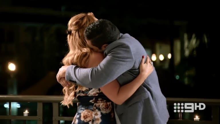 Telv with the season's best hug.