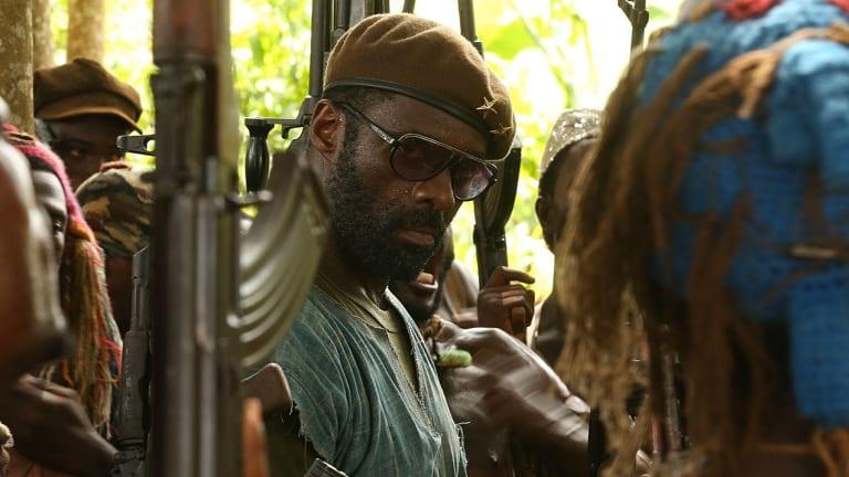 Idris Elba in <i>Beasts of No Nation</i>.