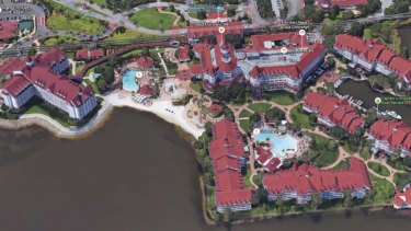Disney's Grand Floridian Hotel in Orlando, Florida.