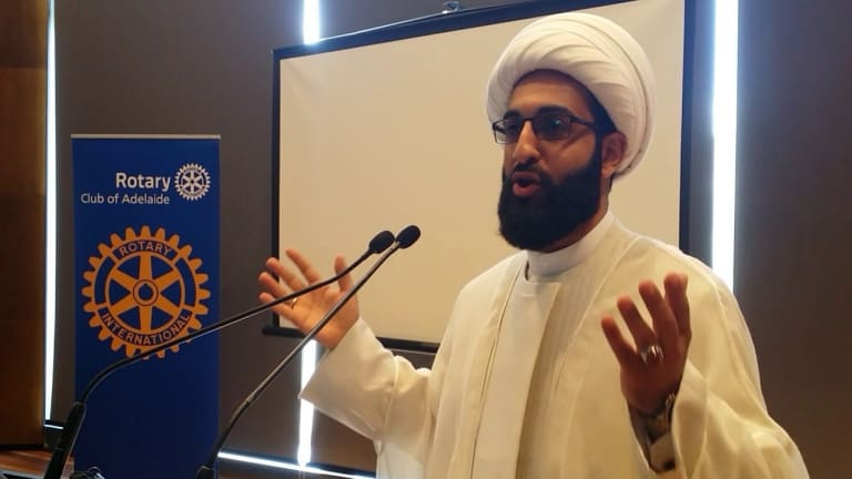 "The self-styled ""imam of peace"", Mohammad Tawhidi, is not recognised as a sheikh, imam or any kind of religious authority by the Australian National Imams Council."