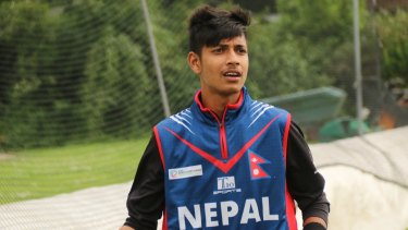 Looking to take Sydney by storm: Sandeep Lamichhane.