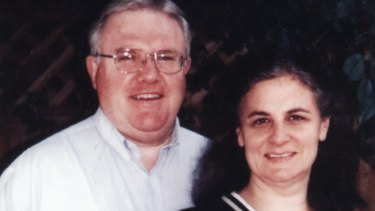 Bruce D Hales, the Sydney-based leader of the Exclusive Brethren, pictured with his wife Jennifer.