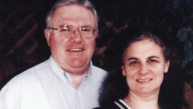 Bruce D. Hales, Sydney-based leader of the Exclusive Brethren, pictured with his wife Jennifer.