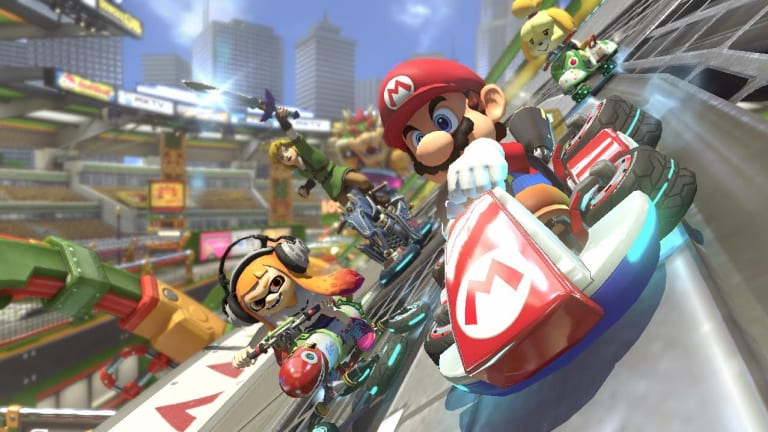 <i>Mario Kart</i> is even bigger and better on the Switch.