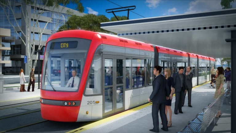The proposed extension of light rail from the City to Russell would liberate public servants exiled in the Defence precinct.