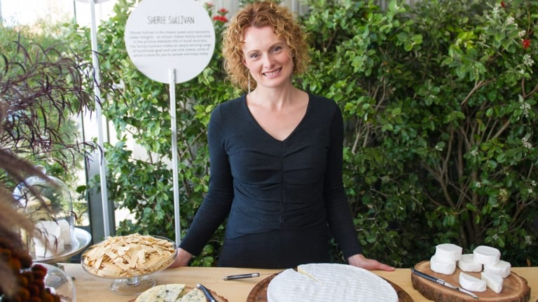 Sheree Sullivan, owner of Udder Delights in the Adelaide Hills.