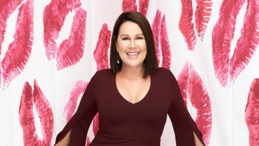 Blind Date host Julia Morris.